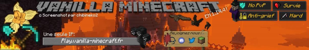 Vanilla Minecraft